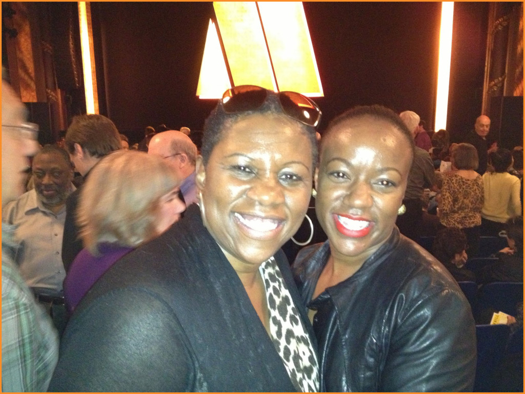 Debbie Mitchell and Dorcia Kelley, Motown: The Musical Photo Credit: Debbie Mitchell