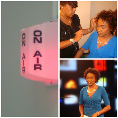 """Arise TV """"Our Take"""" Host, Christina Brown  Photo Credit: Debbie Mitchell"""