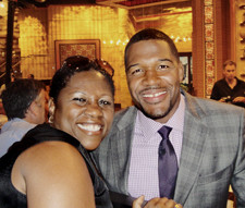 DM with Michael Strahan
