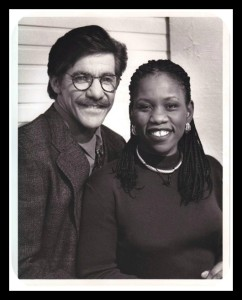 Geraldo & Debbie B & W Press Photo