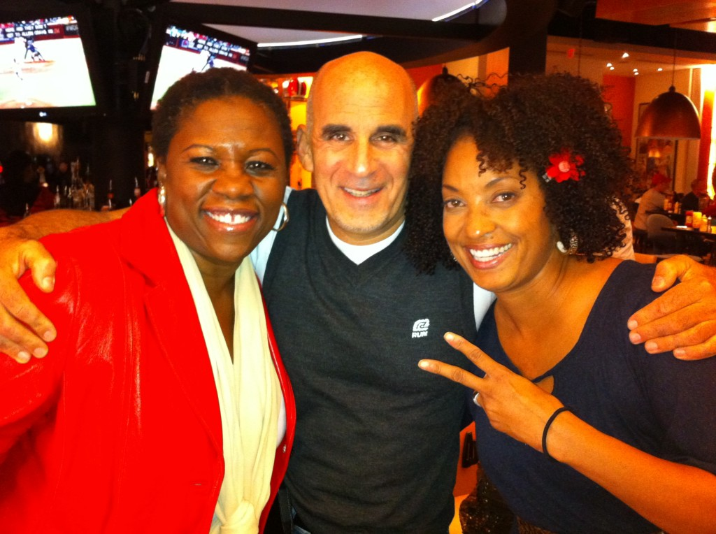 Me, Ted Rubin, Rene Syler at Blogalicious Conference 2011