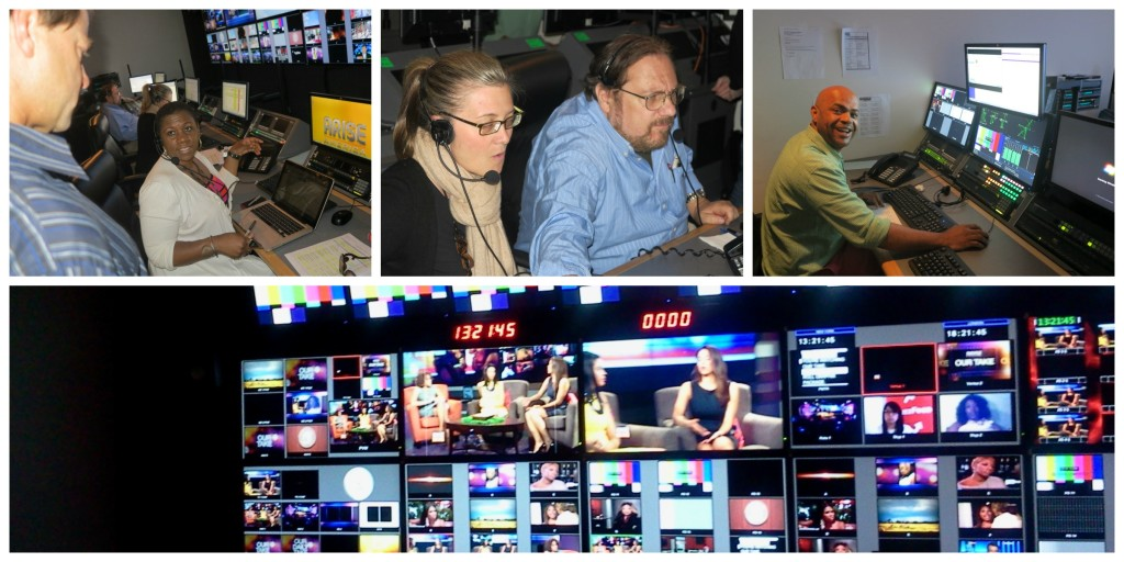 Our Take on Arise TV, Control Room   Photo Credit: Debbie Mitchell