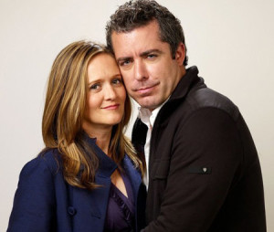 "Samantha Bee and Jason Jones , ""The Daily Show"""