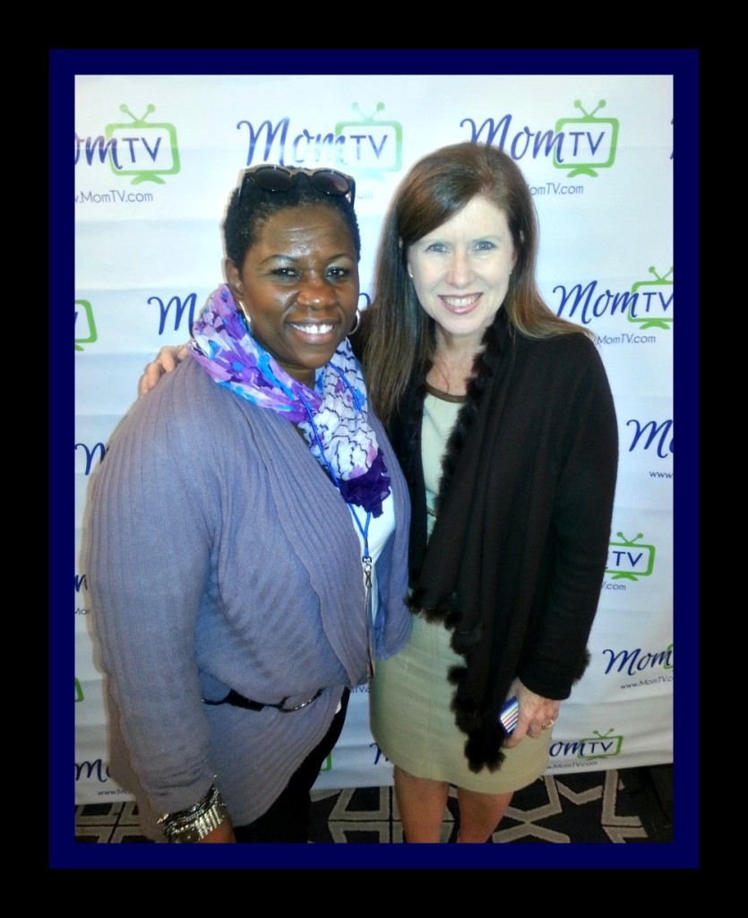 Debbie Mitchell and Maria Bailey  at  2013 SheStreams conference