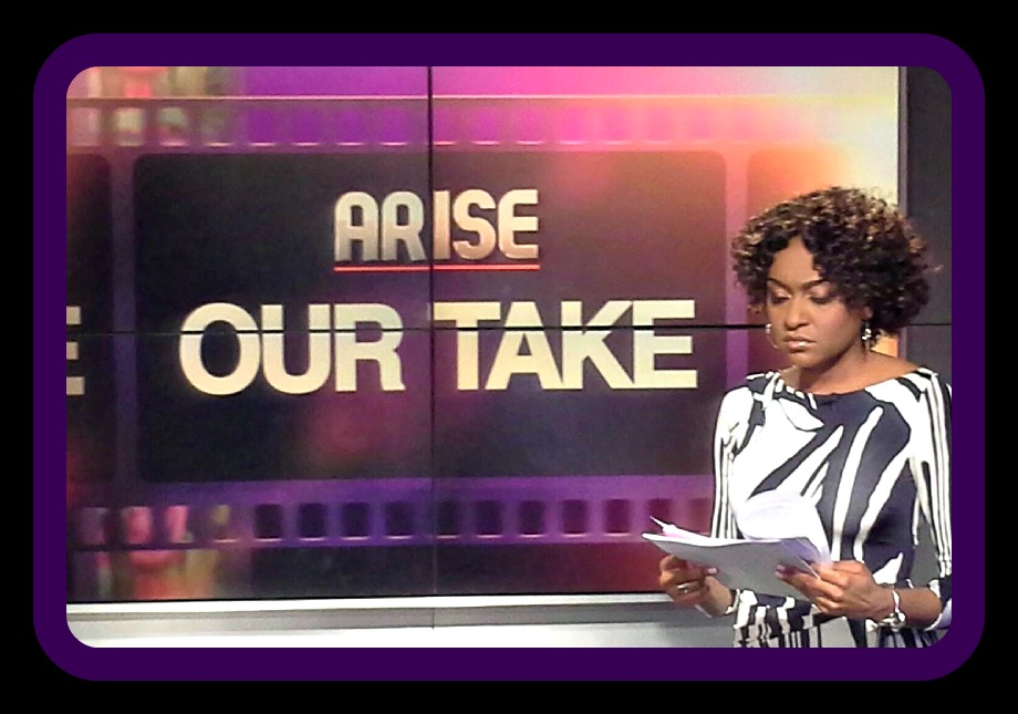 Our Take on Arise TV,  Host Christina Brown Photo Credit: Debbie Mitchell