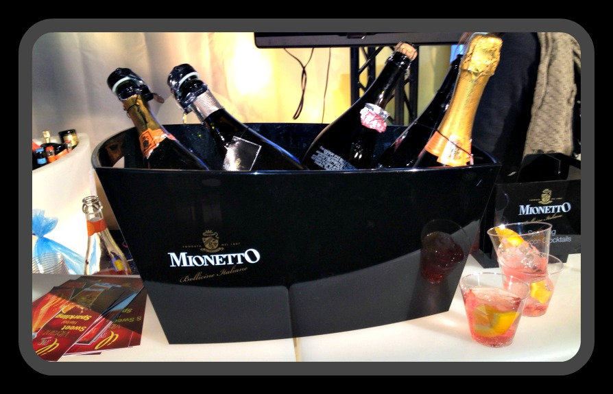 Framed Black Bucket of Mionetto Prosecco