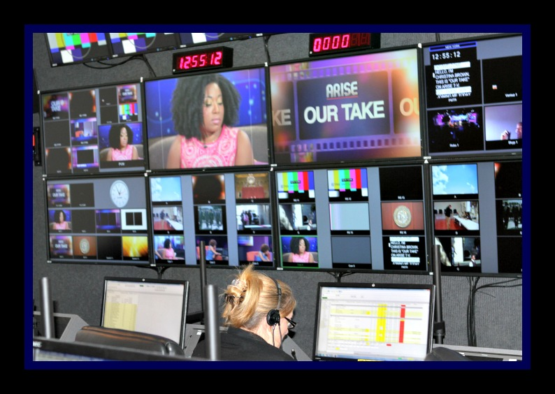 Our Take On Arise TV Control Room Photo Credit: Debbie Mitchell