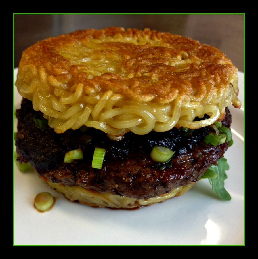 Ramen Burger Photo Credit: Michael Fox