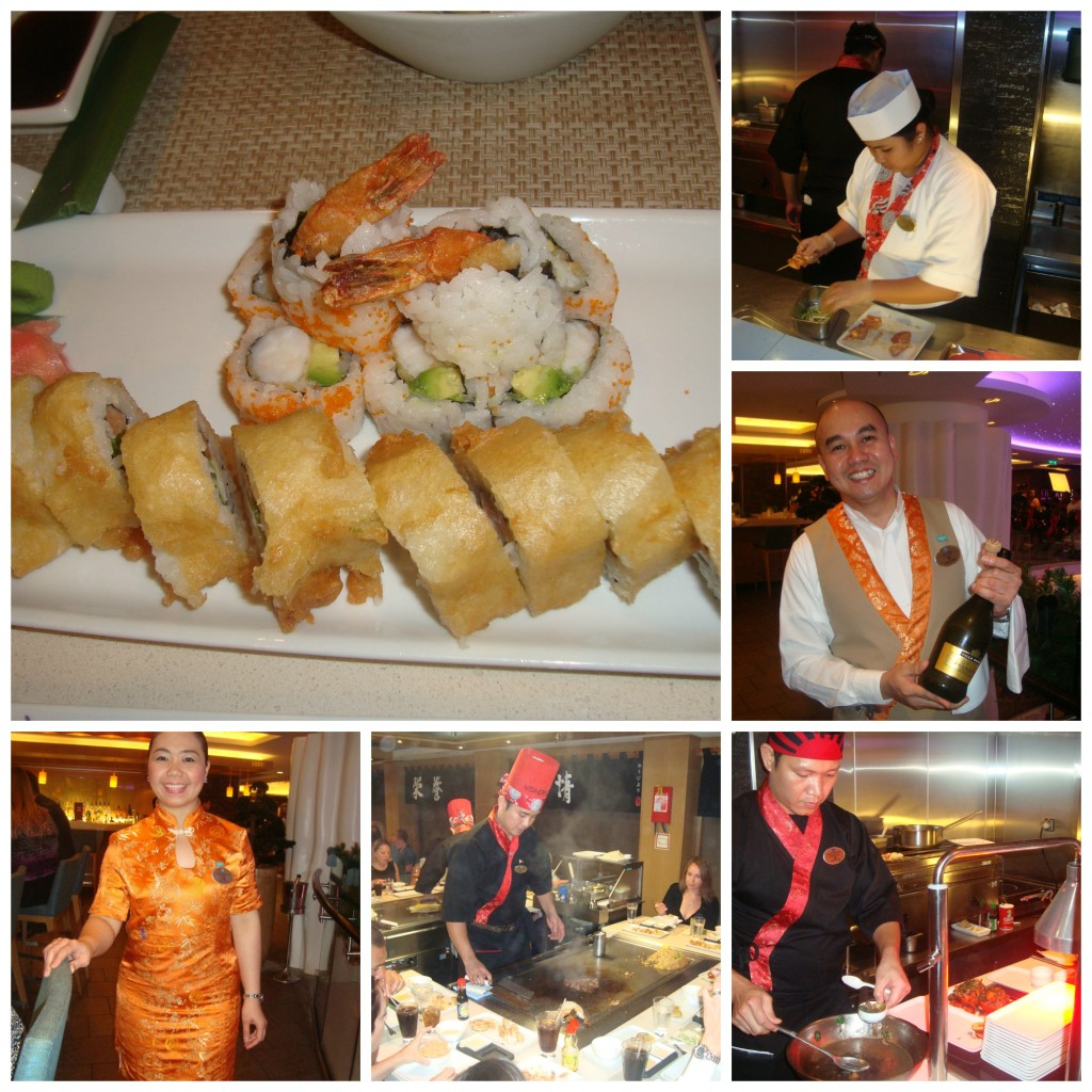 Wasabi and Teppanyaki restaurant on Norwegian Epic Photo Credit: Debbie Mitchell
