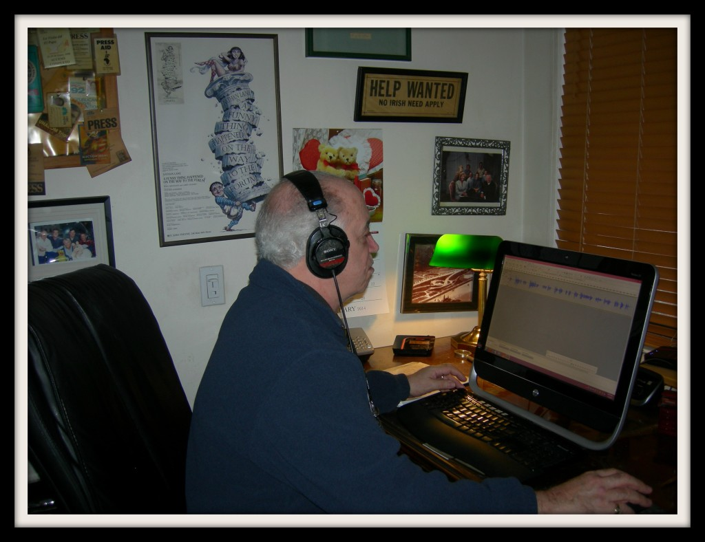Voiceover Artist, Bob Hennessy Editing