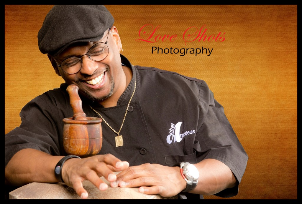 Chef Amadeus, Radio Host Love Shots Photography