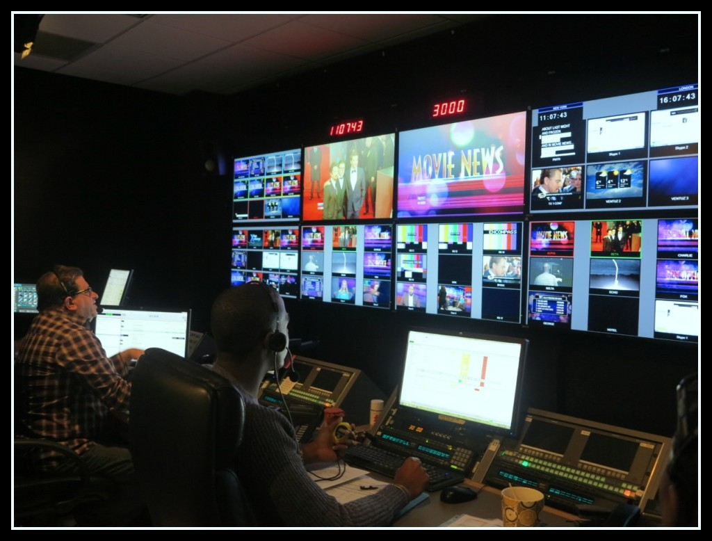 Arise On Screen control room Photo Credit: Debbie Mitchell