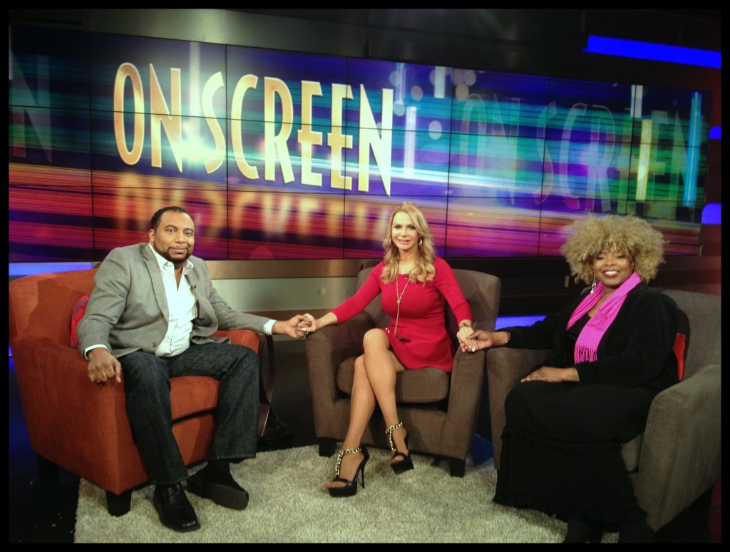 Arise On Screen Host & Film Critic Mike Sargent, Valli Dawn Hart and Stephanie Green Photo Credit: Debbie Mitchell