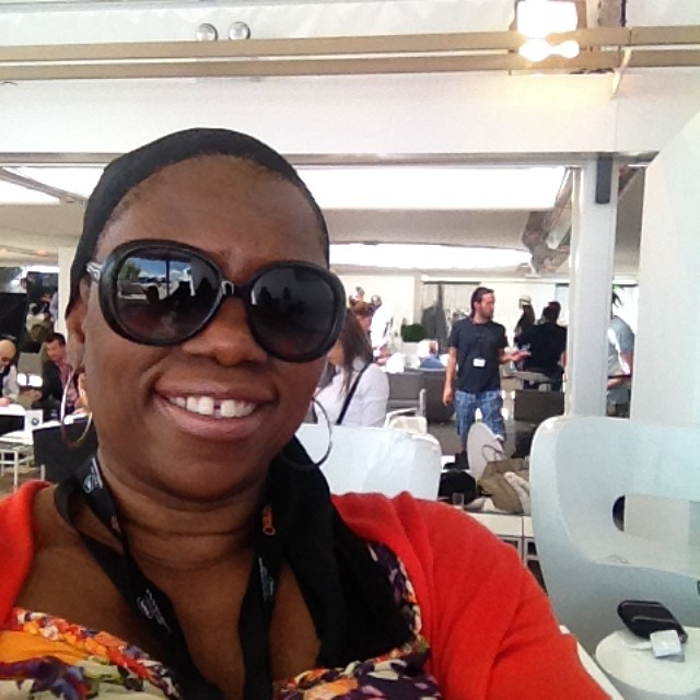 Arise On Screen Executive Producer Debbie Mitchell at 2014 Cannes Film Festival