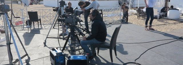Arise TV Set (2014 Cannes Film Festival) - We will be missing this set for a long time… Photo Credit: Debbie Mitchell