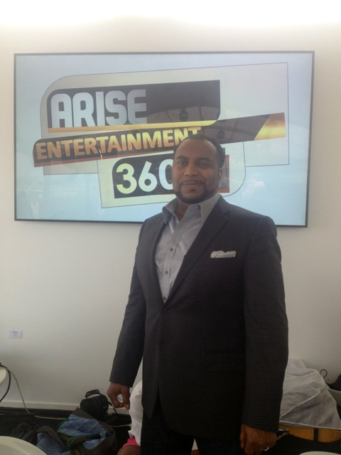Arise On Screen host Mike Sargent