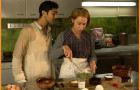 Manish Dayal and Helen Mirren, The Hundred-Foot Journey