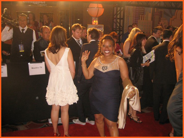 Joyce Coleman- Sampson at 2010 Daytime Emmy Awards Ceremony