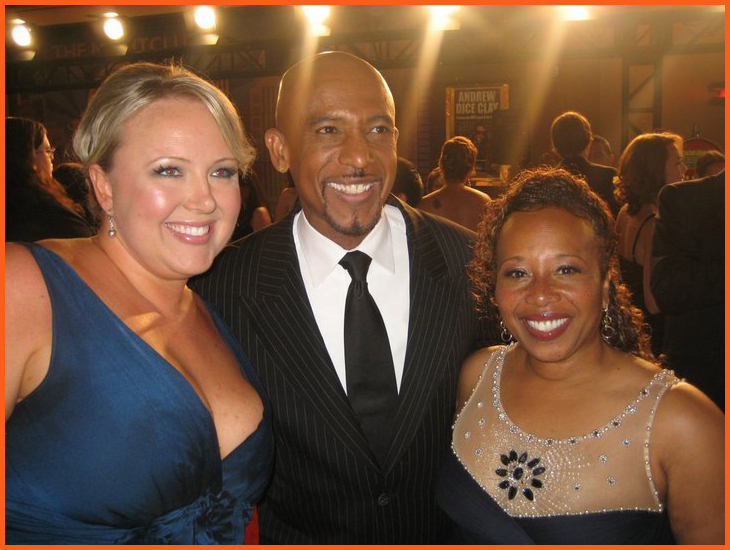Montel Williams and Joyce Coleman-Sampson at 2010 Daytime Emmy Awards