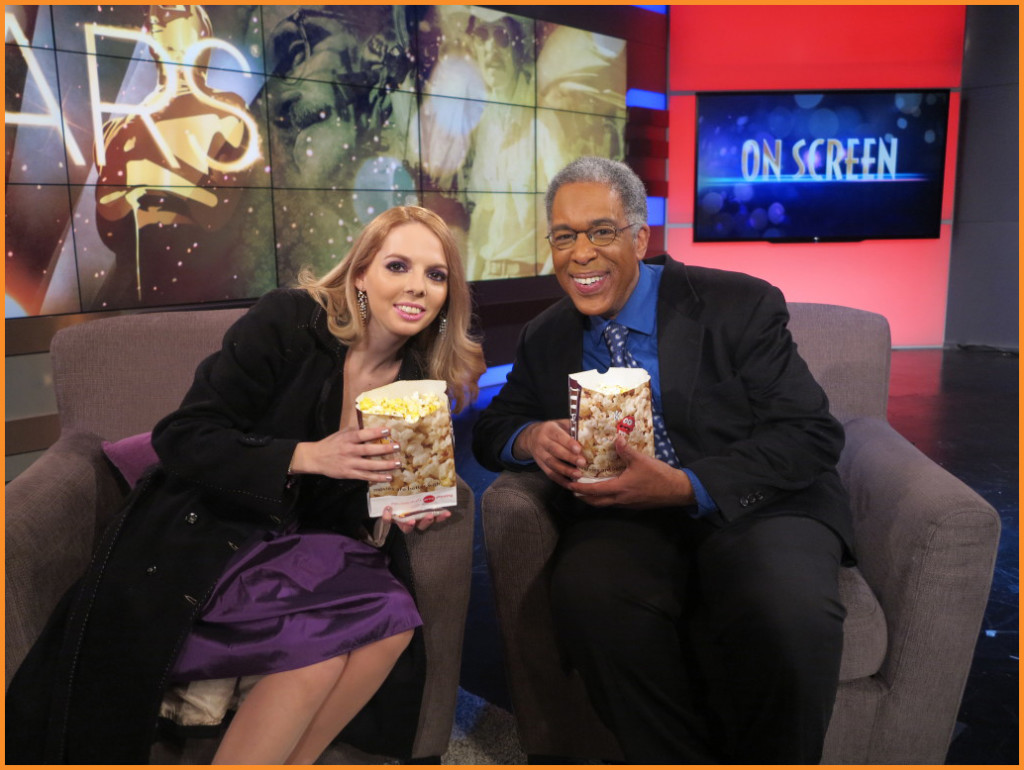 Film critics, Chiara Spagnoli Gabardi and Bobby Rivers on Arise On Screen