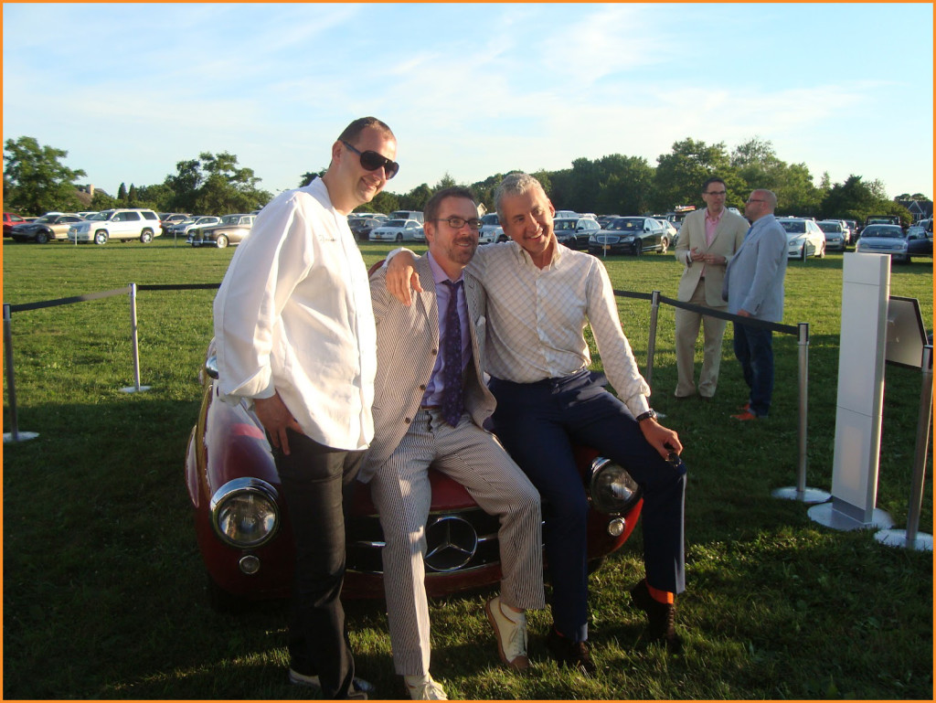 Ted Allen (middle) JBF Chefs & Champagne 2012