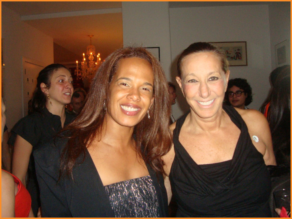 Donna Karan at charity event with ELEW, NYC 2013 Photo Credit: Debbie Mitchell