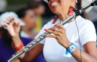 Jazz Flutist Sherry WInston at Plainfield NJ. Plainwood Park Concert Series Photo Credit: Elliott Simmons