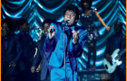 """Chadwick Boseman as James Brown in """"Get On Up"""""""