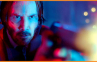 "Actor Keanu Reeves in  the action film ""John Wick"""