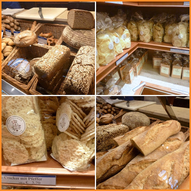 The Dallmayr gourmet delicatessen in Munich, Germany. Photo credit: Lora Wiley-Lennartz of Diary of a Mad Hausfrau