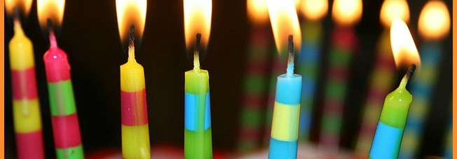 1birthday candles