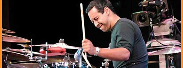 Birdman composer and drummer Antonio Sanchez