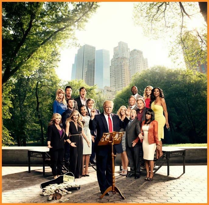 The cast of season 7 of The Celebrity Apprentice