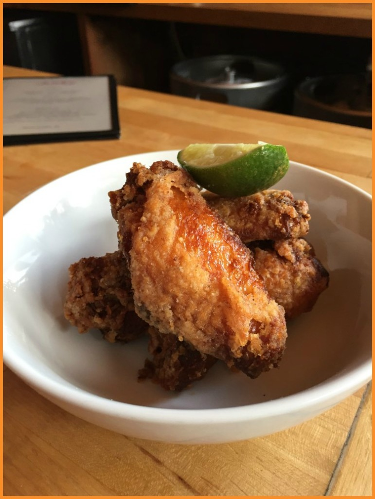Chicken wings from Chubko in Brooklyn, May 2015 Photo Credit: Debbie Mitchell/Deborah Mitchell Media Associates
