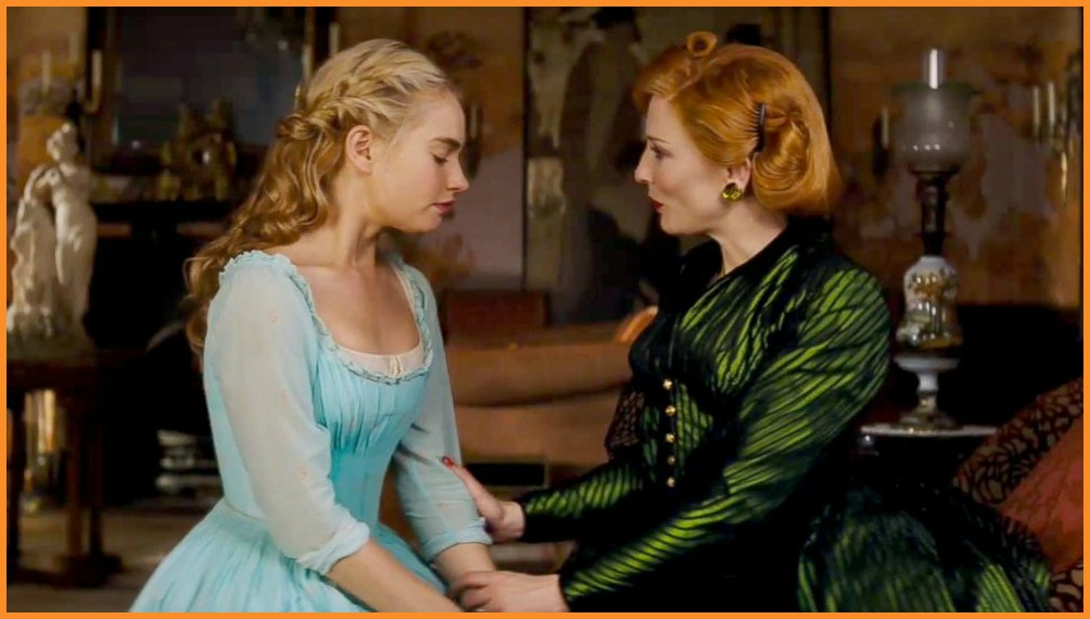 xx and xx in Cinderella, one of the xx films of 2015...so farPhoto courtesy of
