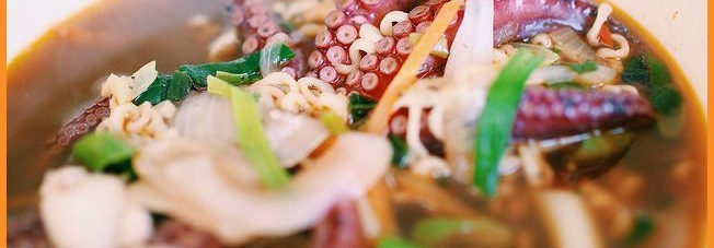 A bowl of octopus ramenPhoto Credit: bigbirdz via Creative Commons