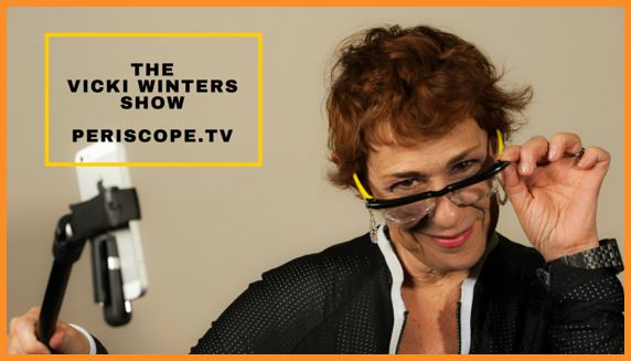 "Vicki Winters of  ""The Vicki Winters Show"" and ""Live Streaming Ladies"""