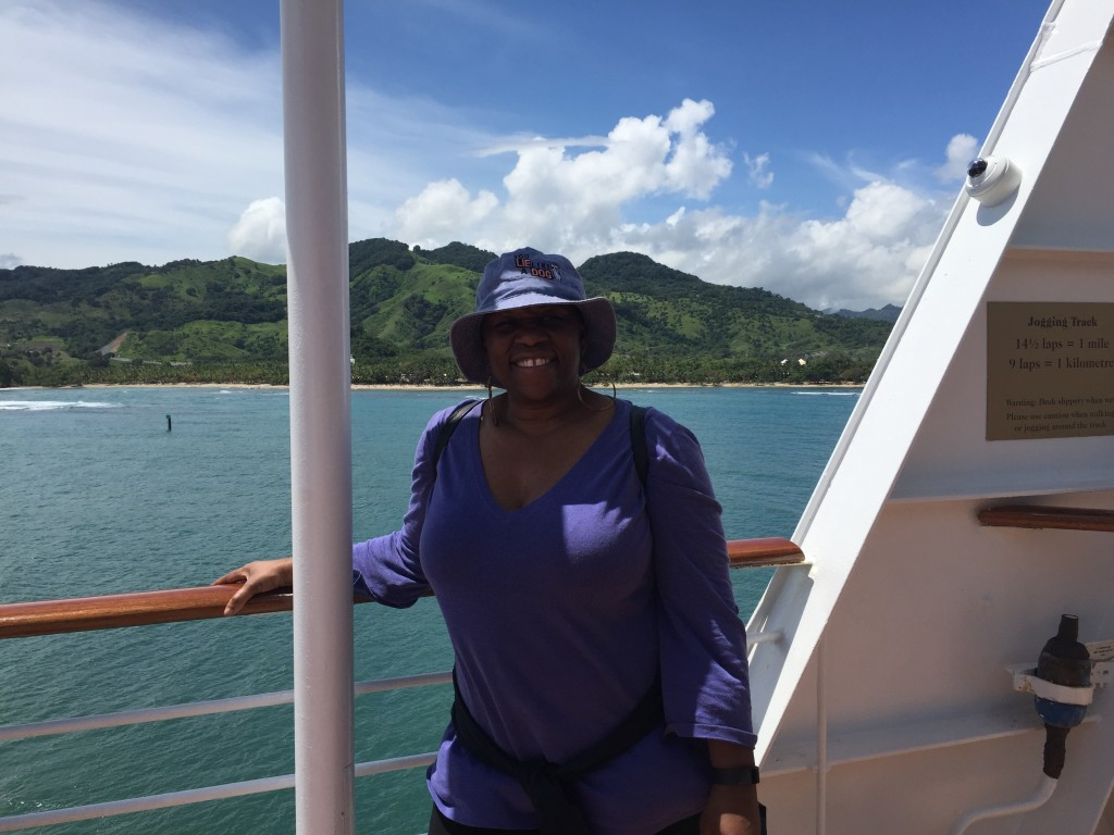 On Fathom Adonia at Amber Cove, Puerto Plata Dominican Republic Photo Courtesy/Deborah Mitchell Media Associates